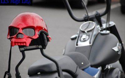 Red Helmet Caught The Eye!