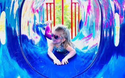 Child Having Fun!